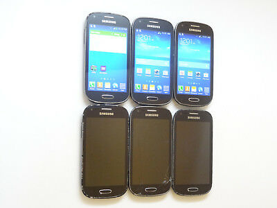 Lot of 6 Samsung Galaxy Light SGH-T399 T-Mobile Smartphones AS-IS GSM