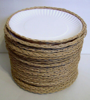 Wicker Bamboo Paper Plate Holders Natural Rattan Picnic & Wicker Paper Plate Holders Target - Best Plate 2018
