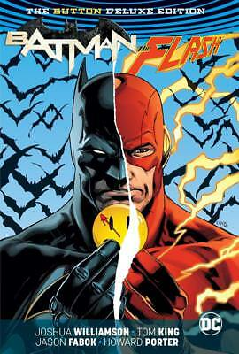 DC: Batman/The Flash: The Button Deluxe Edition HC Hardcover (NEW)