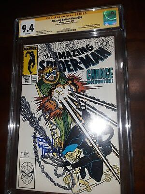 NO RESERVE - AMAZING SPIDER-MAN #298 CGC SS 9.4 Signed by TODD MCFARLANE !!