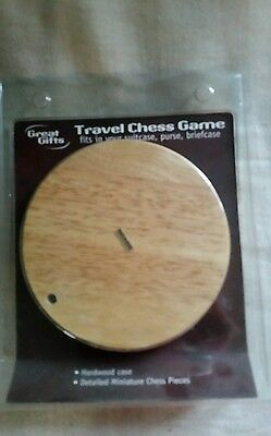 Great Gifts  mini travel chess  game board  with  pieces