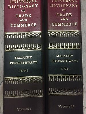 Volume 1 And Volume 2 The Universal Dictionary Of Trade And Commerce