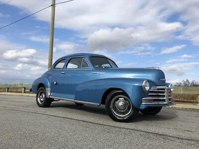 1947 Chevrolet Stylemaster Series coupe 1947 chevrolet style master coupe, hot rod, rat rod, hotrod, 350 disc brake 1950