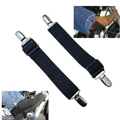 4x Work Boot Straps Pant Clips Adjustable Leg Strap Ankle Strap for Inside Boot