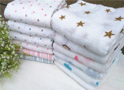 New Aden Anais Baby Swaddle Blanket Muslin Cotton Newborn Baby Bath Towel