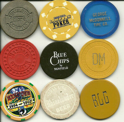 9 Different Miscellaneous Chips