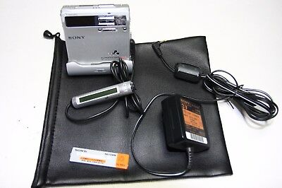 Sony md minidisc player MZ-N1. Tested