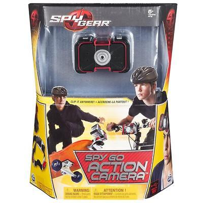 NEW Spy Gear Spy Go Action Camera Clip-On Portable Surveillance Spin Master Toy