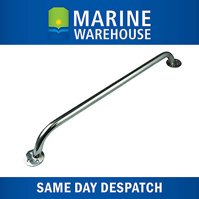 Rail Handle Stainless Steel - Marine Boat 316 Polished SS Tubing 400mm 407186