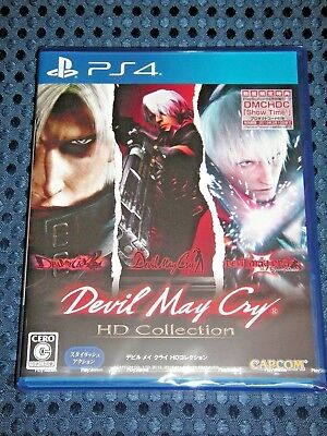 NEW PS4 Devil May Cry 1 2 3 Special ed HD Collection w/ Bonus DMCHDC DLC JAPAN