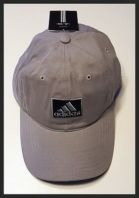 Adidas Adjustable Golf Cap - Grey - Brand New - New With Tags