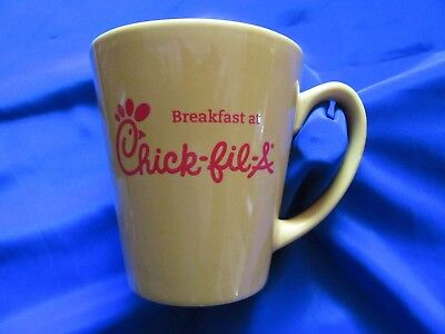 Chick-fil-a Breakfast 10oz Coffee Cup Or Mug Very Nice NO Chips or Cracks