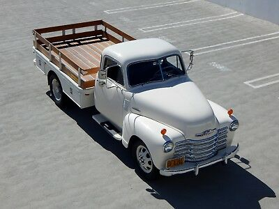 1947 Chevrolet 3800 1-Ton Stake Bed Truck 2nd Series - Frame Off Restored 1947 Chevrolet 3800 2nd Series 1-Ton Stake Bed Frame-Off Restored 4-Speed Truck
