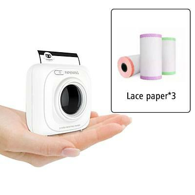 3Pc Printer Lace Paper Thermal Photo Printing Sticker Compatible For PAPERANG P1