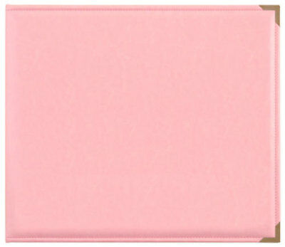 *A&B* KAISERCRAFT Scrapbooking D-Ring Photo Album - PU Leather - Pink