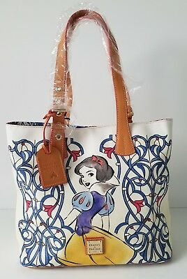NWT Disney Parks NEW Snow White Tote by Dooney and Bourke Retail $298