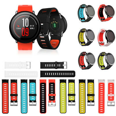 Sports Replacement Silicone Strap Band For Xiaomi HUAMI AMAZFIT Smart Watch UK
