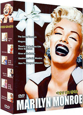 MARILYN MONROE COLLECTION (6 Disk) DVD NEW