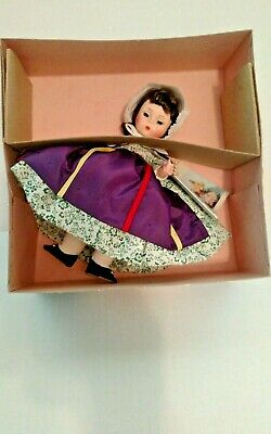"Vintage Madame Alexander Doll 8"" CANADA #560 Mint in Box"