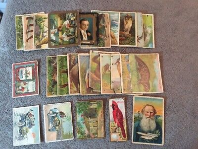 Lot Of (25) 1910's Tobacco Cards - Lower Grade