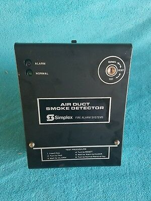 SIMPLEX Air Duct Smoke Detector Fire Alarm Systems