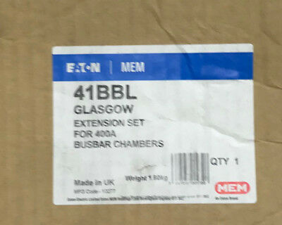 Eaton 41BBL Glasgow Extension Set For 400A Busbar Chambers