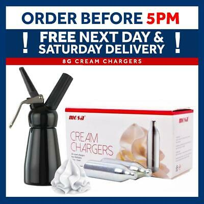 Cream Chargers MOSA Canisters + MOSA Whippers Option - FREE DELIVERY