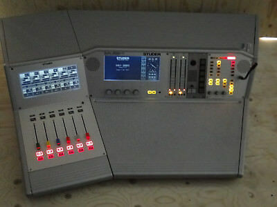 Studer Mischpult On Air 2000 MKII   Broadcast