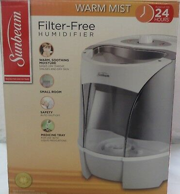 sunbeam humidifier warm mist manual
