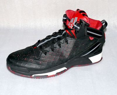 new arrival 23169 c7c49 Adidas S84944 Performance D Rose 6 Boost Basketball Schuhe 50 UK14 Black  Red Wei