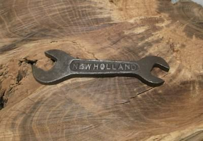"""Antique 6"""" New Holland *feed Mill* Wrench >Worth A L00K<"""