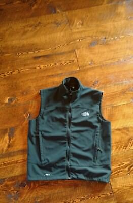 The North Face Vest Mens Size XL Black APEX Excellent Condition Full Zip NICE