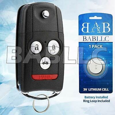 REPLACEMENT FOR Acura TL Key Fob Remote PicClick - Acura tl key fob