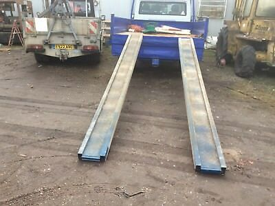 Heavy Duty Ali Loading Skids 12 Ft Long Collection Only Essex/ Suffolk Border