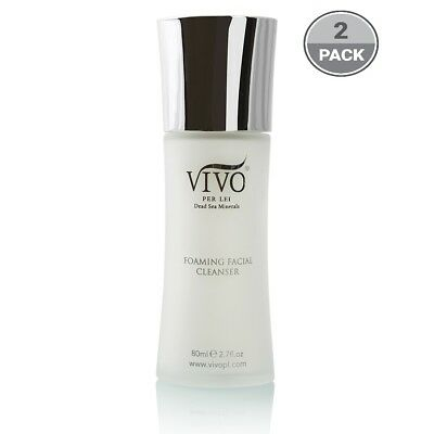 Vivo Per Lei Foaming Facial Cleanser, for All Skin Types (2 pack)