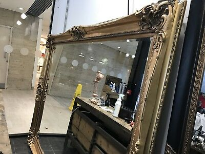 Large Rococo Mirror 8ft By 6ft Ornate Vintage French Antique Style