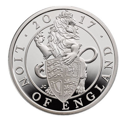 2017 Queen's Beast Lion - 1 oz PROOF Silver Coin