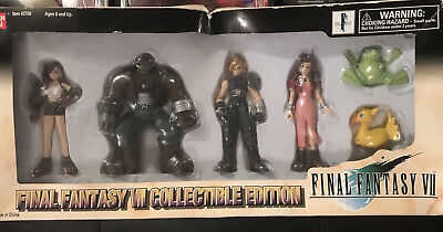 Final Fantasy VII 7 Extra Knights Collectible Edition Action Figure Set