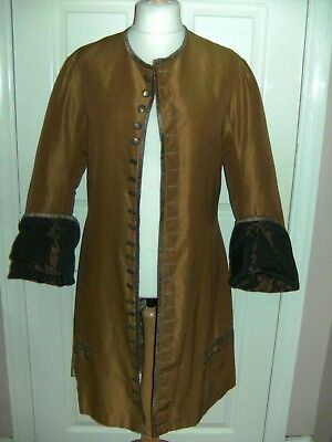 Mens Georgian Period Theatrical Jacket By The Royal Opera House Theatre Costume