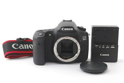 Canon EOS 60D 18.0MP Digital SLR Camera - Black Body Only w/Strap from Japan