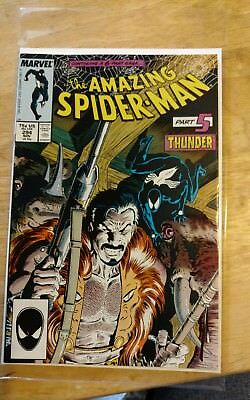 1987-88 The Amazing Spider-Man # 294, 295, 296, 297, Kraven, Doc Ock,