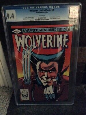 Wolverine #1 (Sep 1982, Marvel) Whit Pages