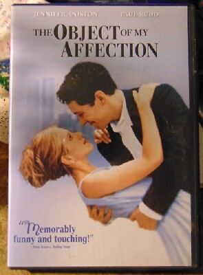 The Object Of My Affection (DVD, 2006, Widescreen) Jennifer Aniston