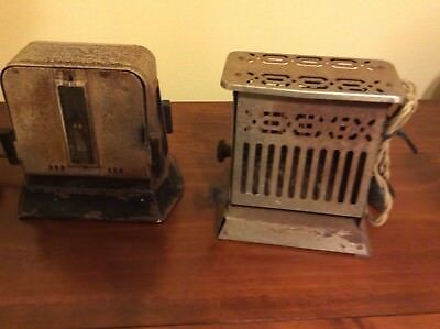 Vintage Electric Toasters (2) Hotpoint and Mastercraft