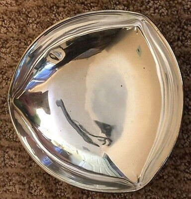 "Sterling Silver Bowl Mexican Stamped Sanborns 5"" Wide,1.5"" High"