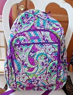 Vera Bradley Disney Campus Backpack in Disney Plum's Up Pattern #ZZ