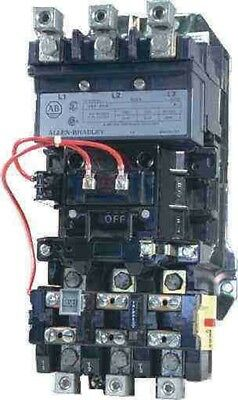 Allen-Bradley 509-D0D-930 AC Open Type Full Voltage Starter, 3-Pole, 110 120 V