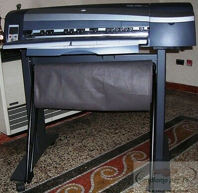 Printer Plotter HP Designjet 130NR +Stand binder