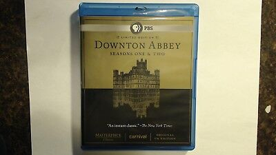 Downton Abbey Limited Edition Seasons One & Two 1 & 2 (Blu-ray, 2012, 5-Disc)
