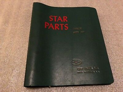 1956 Star Parts Linotype Catalog Price List Binder Style South Hackensack NJ